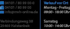 Motorradteilevertrieb Hamburg GmbH, Verbindungsweg 38, 25469 Halstenbek